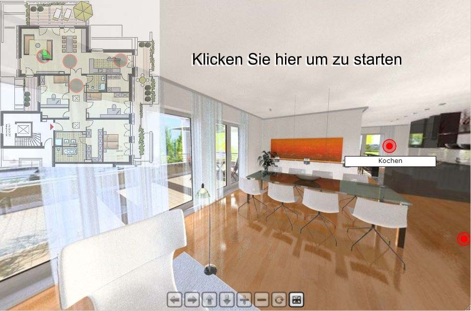 Architektur - Visualisierung als VR-Panorama